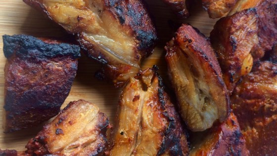 Photo of Oven-Baked Barbecue Rib Tips by Bibi