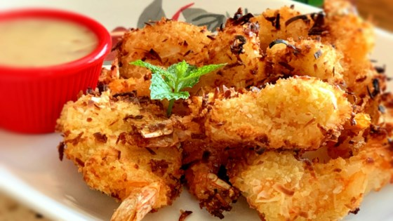 air fryer coconut shrimp review by sue kirsten lavin