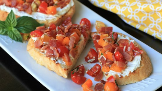 Photo of Ricotta Toast with Bacon and Tomato by France C