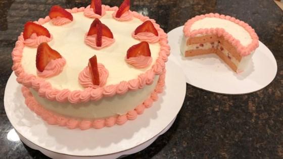 Strawberry Nesquik® Layer Cake Recipe
