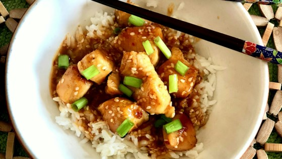Photo of Healthier Honey-Sesame Chicken by Yoly