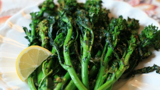 Photo of Grilled Broccoli Rabe by France C