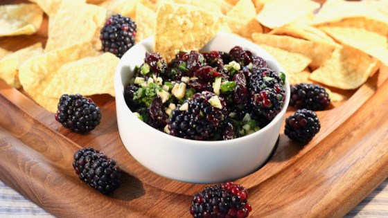 Photo of Blackberry-Cherry Salsa by Slowturtle