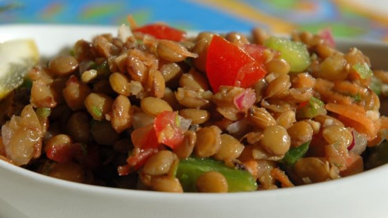 Refreshing Lentil Salad