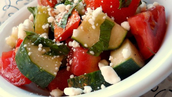 Photo of Tomato, Basil, and Feta Salad by VANCGIRL2