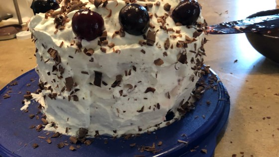 Photo of Easy Dressed-Up Black Forest Cake by SILVREZS