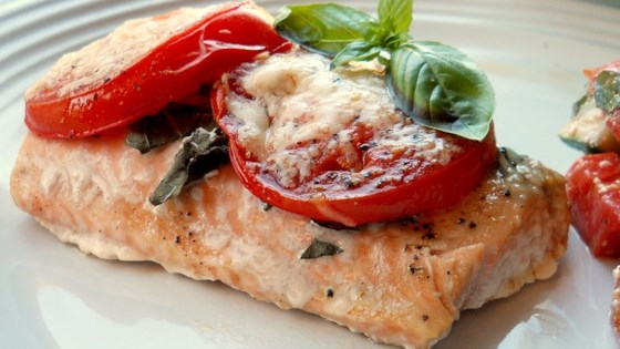 Photo of Tomato Basil Salmon by CHEDDAR97005