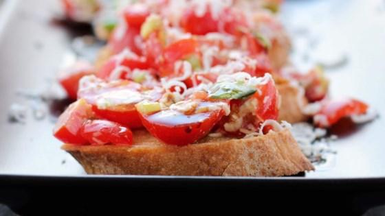 Photo of Tomato and Ricotta Salata Bruschetta by KSANFORD