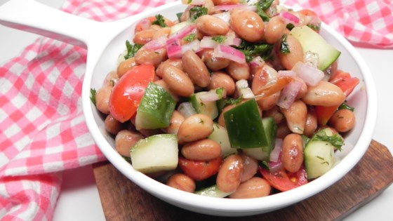 Photo of Cranberry Bean Salad by Soup Loving Nicole