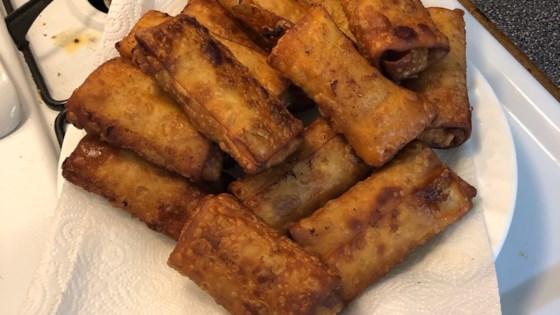 lumpia filipino shrimp and pork egg rolls review by bri