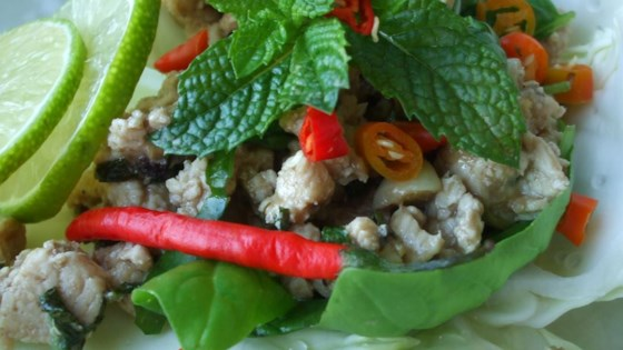 Photo of Larb - Laotian Chicken Mince by Baking Nana