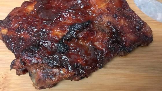 Air Fryer BBQ Baby Back Ribs Recipe