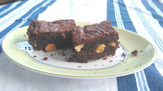Photo of Dark Chocolate-Orange Brownies  by lomagu