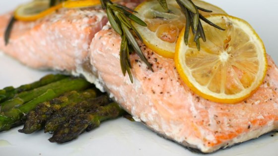 Photo of Lemon Rosemary Salmon by CHEDDAR97005