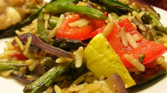 Photo of Roasted Vegetable Orzo by Michelle