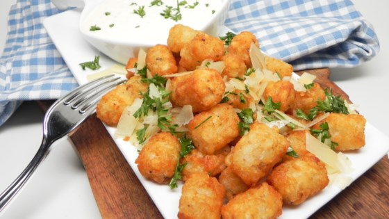Photo of Tater Tots® with Truffle Aioli by Soup Loving Nicole