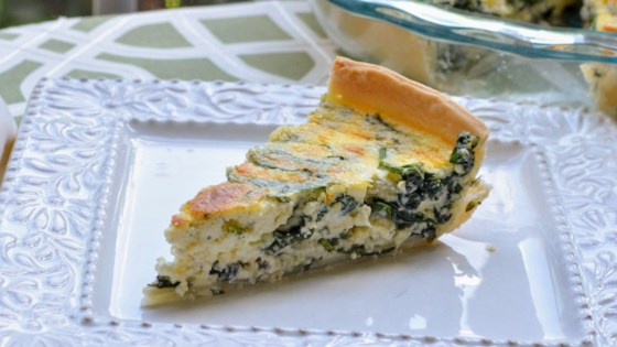 Photo of Spinach-Ricotta Quiche by Kim's Cooking Now