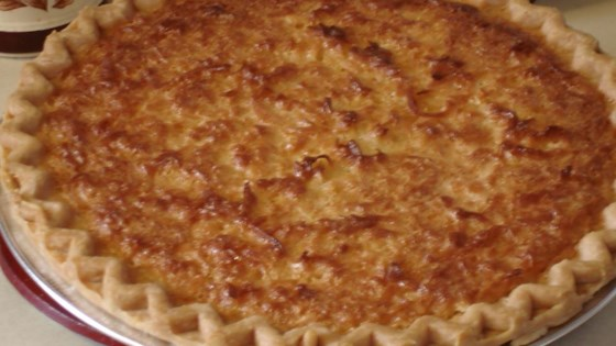 Photo of Coconut Custard Pie I by Lesley