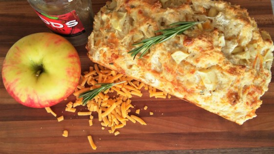 Photo of Apple, Cheddar, and Rosemary Beer Bread by Tammy Lynn