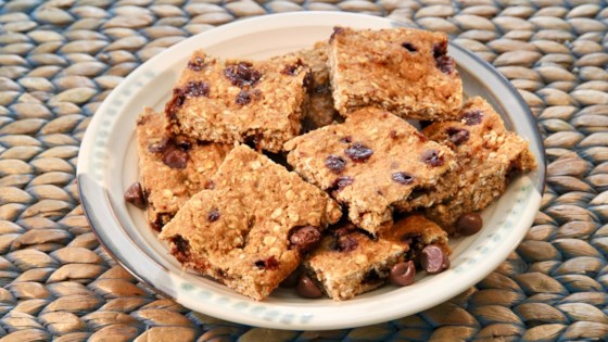 Photo of Oatmeal Chocolate Chip Snack Bars by KenzieKook