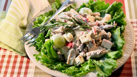 fruity chicken salad with tarragon review by jen