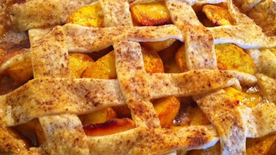 Photo of Peach Pie by Marcia Kammann