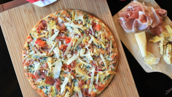 Photo of Prosciutto-Artichoke Pizza by France C