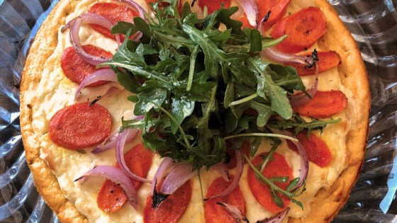 Photo of Honey-Roasted Carrot and Goat Cheese Pizza by Elizabeth