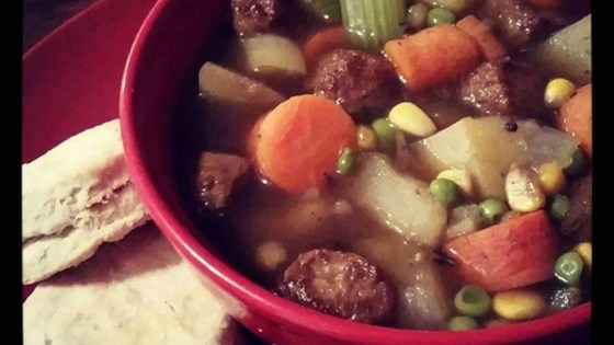 Photo of Vegan Beefless Stew by btnymeg