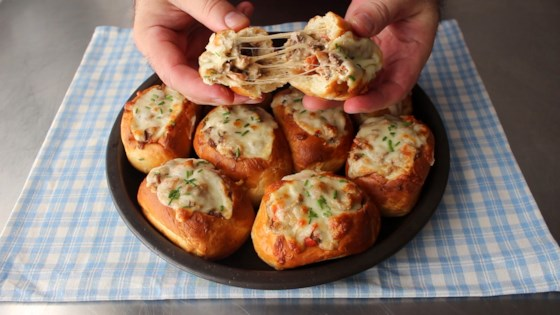 Photo of Baked Philly Cheesesteak Sliders by Chef John