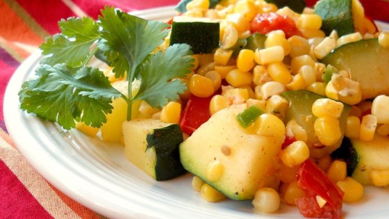 Photo of Calabacitas con Elote (Zucchini with Corn) by gema