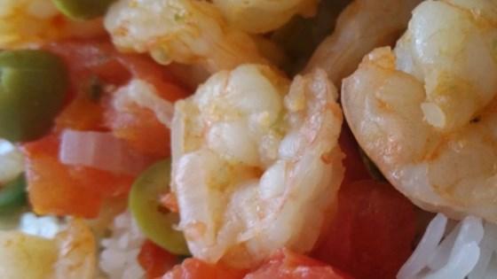 Photo of Shrimp Veracruzana by Breana Lai, M.P.H., R.D.