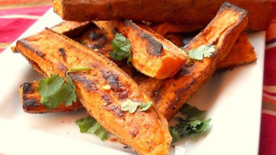 Photo of Tropical Sweet Potato Fries by The Messy Cook