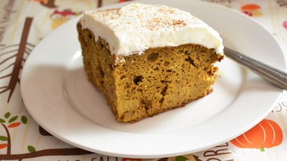 Photo of Pumpkin Tres Leches Cake by Peggy Jane