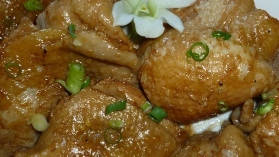 Photo of Adobo Chicken with Ginger by COOKIEMONSTER64