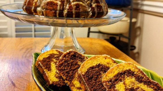 Photo of Chocolate Orange Marble Cake by Carol