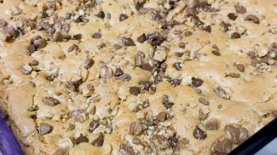 Photo of Toffee Blondies by Jacqueline