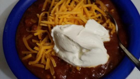 Photo of Quick Beef Chili  by traci