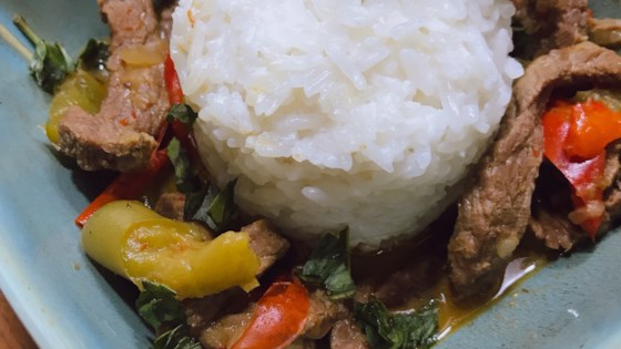 Photo of Instant Pot® Beef Panang Curry by thedailygourmet