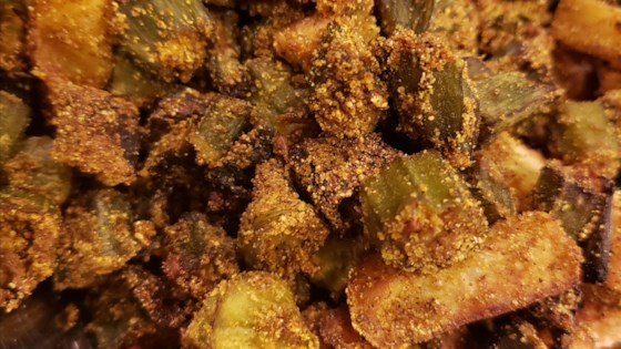 Photo of Indian Okra in the Air Fryer (Kurkuri Bhindi)  by Hindustanisakhisaheli
