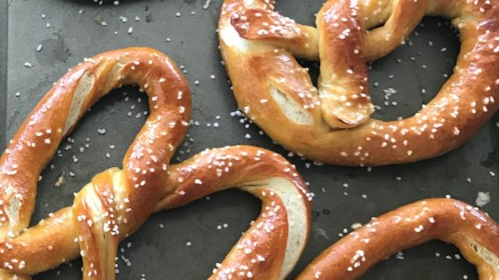 Photo of Buttery Soft Pretzels by CHRISTA ROSE