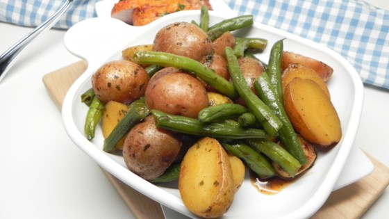 Photo of Slow Cooker Green Beans and Potatoes  by Jesi A.