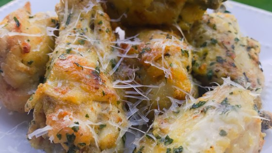 Photo of Parmesan-Garlic Keto Chicken Wings by thedailygourmet