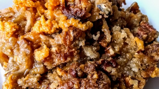Photo of Sweet Potato Streusel Casserole with Coconut by lvscoffee7