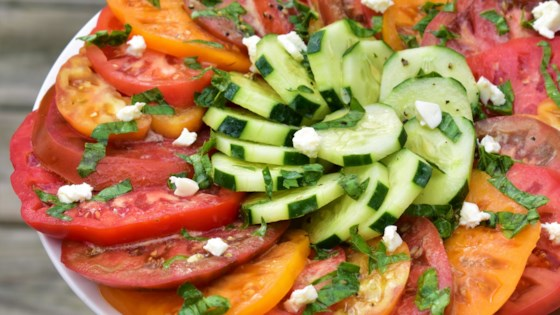 Photo of Heirloom Tomato Salad with Feta by Roni