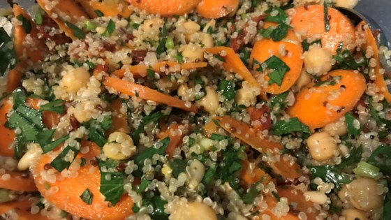 Photo of Hearty Quinoa Salad with Chickpeas by cviega