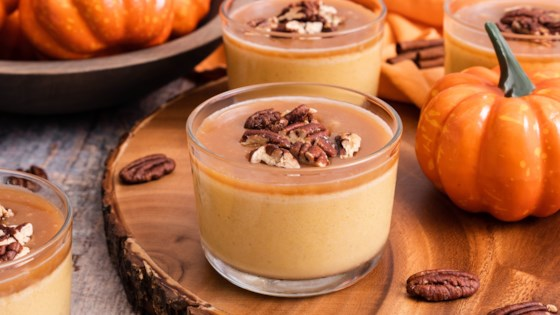 Photo of Reduced-Sugar Spiced Pumpkin Panna Cotta by In The Raw