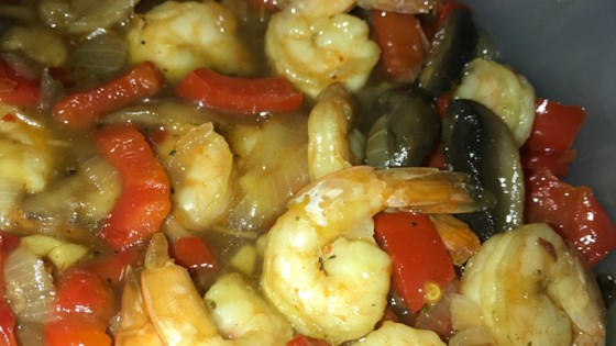Photo of Honey-Ginger Shrimp and Vegetables by Liz Hoffman