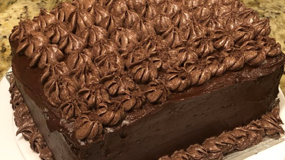 Photo of Moist Chocolate Layer Cake by Jovy