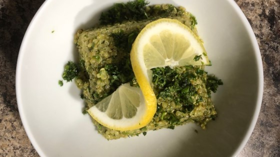 Photo of Green Quinoa Tabbouleh by Chef John